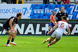 May 14, 2017 - Paris, France - JOE WEBBER of New Zealand team during the match against France of HSBC World Rugby Sevens Series at Jean Bouin stadium of Paris France.New Zealand beats France 14-0 (Credit Image: © Pierre Stevenin via ZUMA Wire)