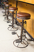 Stools made of bike parts at the Phat Tire bike shop on Thursday, February 18, 2016, in Bentonville, Arkansas. Beth Hall for the New York Times