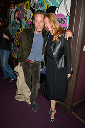 MARLON RICHARDS and LUCIE DE LA FALAISE at Hoping's Greatest Hits - the 10th Anniversary of The Hoping Foundation's charity benefit held at Ronnie Scott's, 47 Frith Street, Soho, London on 16th June 2016.