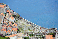 21.06.2015, Dubrovnik, CRO, Dubrovnik ist eine Stadt im südlichen Kroatien an der Adria, im Bild Panoramic view of Dubrovnik from Srdj Mountain. Walls of Dubrovnik // is a city in southern Croatia on the Adriatic Sea, pictured on 17. June in Dubrovnik, Croatia on 2015/06/21. EXPA Pictures © 2015, PhotoCredit: EXPA/ Pixsell/ Grgo Jelavic<br /> <br /> *****ATTENTION - for AUT, SLO, SUI, SWE, ITA, FRA only*****