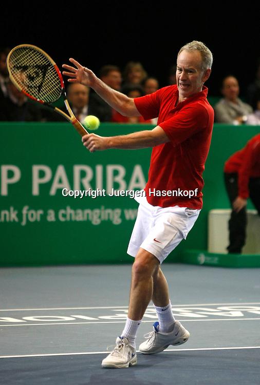 BNP Paribas Zurich Open Turnier, ATP Champions Tour, Herren Tennis Turnier in Zuerich,Schweiz,..John McEnroe (USA)....Photo: Juergen Hasenkopf..