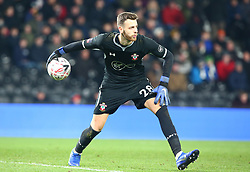 January 5, 2019 - Derby, England, United Kingdom - Derby, England - 05 January, 2019.Southampton's Angus Gunn.during FA Cup 3rd Round between Derby County  and Southampton at Pride Park stadium , Derby, England on 05 Jan 2019. (Credit Image: © Action Foto Sport/NurPhoto via ZUMA Press)