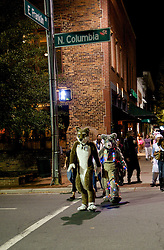 Chapel HIll, North Carolina. Halloween 2009