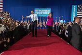 President Obama & Hillary Clinton Charlotte Rally