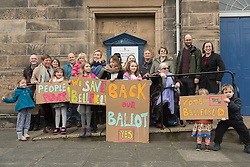 ALL CONTENT STRICTLY EMBARGOED UNTIL 00:01 FRIDAY 17TH FEBRUARY 2017. The Scottish Land Fund Committee have approved a grant of £647,500 which includes a sum of up to £570,000 towards the purchase of the church and halls - the final figure will depend on the outcome of the independent valuation process, which has been commissioned by the Scottish Government. The final part of the Community Right to Buy process will involve a ballot of Portobello residents (also commissioned by the Scottish Government).<br />  <br /> <br /> © Jon Davey/ EEm