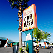 A car wash in Phoenix, Arizona.