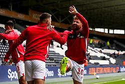 Matty Taylor of Bristol City - Mandatory by-line: Robbie Stephenson/JMP - 05/05/2019 - FOOTBALL - KCOM Stadium - Hull, England - Hull City v Bristol City - Sky Bet Championship