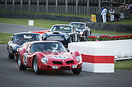 Classic cars race during the Kinrara Trophy at the Goodwood Revival in Chichester, England   Friday, Sept. 9, 2016 The historic motor racing festival celebrates the mid-20th-century golden era of the racing circuit and recreates the atmosphere from the 1950s and 1960s.(Elizabeth Dalziel)