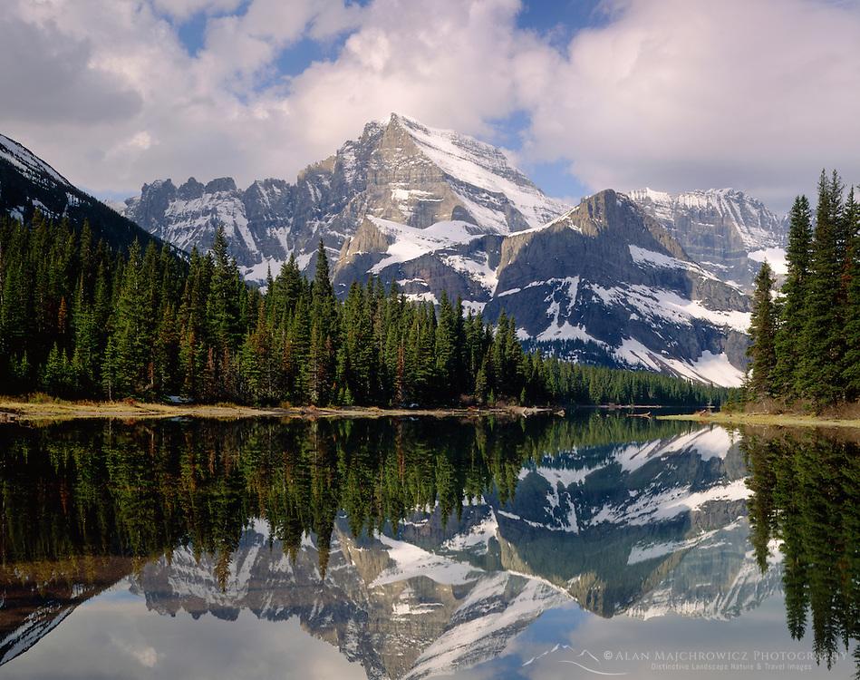Mount Gould and Lake Josephine, Glacier National Park Montana USA
