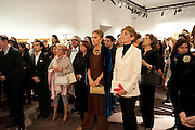 EMPRESS FARAH PAHLAVI OF IRAN; MARYAM SACHS; Book launch for ' art and Patronage: The Middle East' at Sotheby's. London. 22 November 2010. -DO NOT ARCHIVE-© Copyright Photograph by Dafydd Jones. 248 Clapham Rd. London SW9 0PZ. Tel 0207 820 0771. www.dafjones.com.