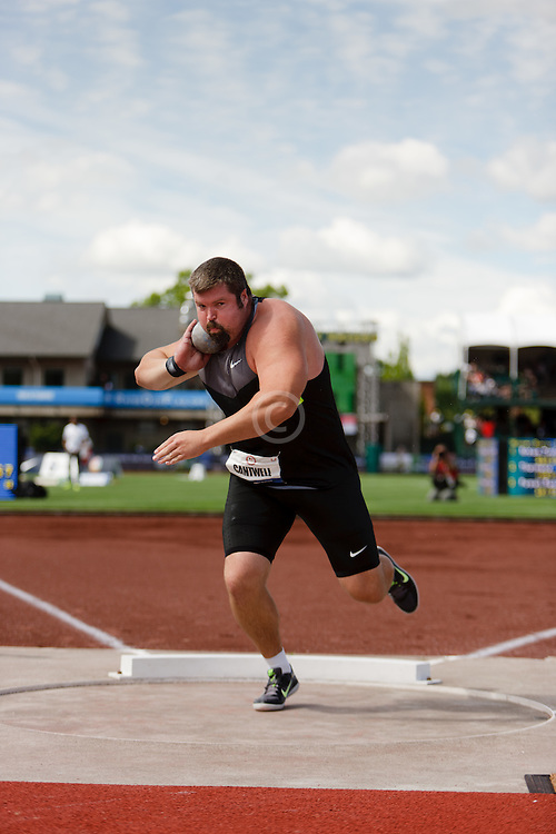 Olympic Trials Eugene 2012: mens shot put, Christian Cantwell
