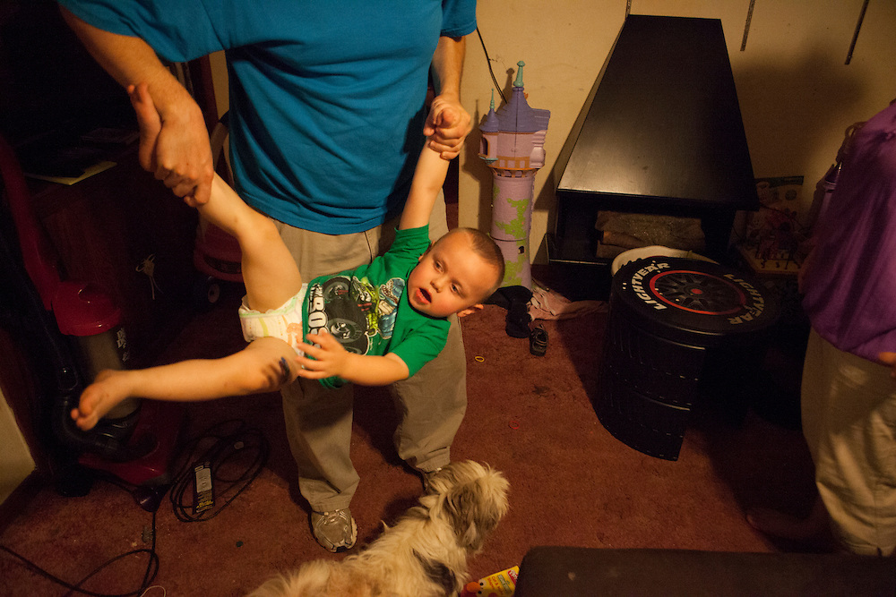 Every night, a ritual gets played out where the adults rile up the children to tire them out before putting them to bed.