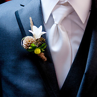 Detail from Dan and Lisa's Whister, British Columbia wedding.