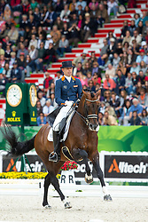 Hans Peter Minderhoud, (NED), Glock's Johnson N.O.P. - Grand Prix Special Dressage - Alltech FEI World Equestrian Games™ 2014 - Normandy, France.<br /> © Hippo Foto Team - Leanjo de Koster<br /> 25/06/14