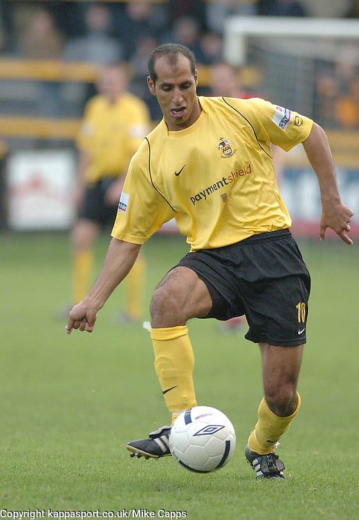 MAAMRIA SOUTHPORT FC, Southport v Kettering Town Conference Saturday 28th October 2006