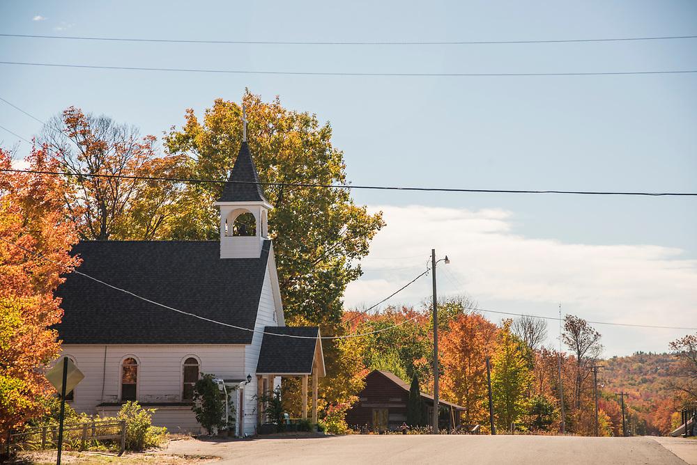 Catholic church in Big Bay, Michigan.