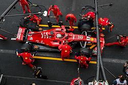 October 27, 2018 - Mexico-City, Mexico - Motorsports: FIA Formula One World Championship 2018, Grand Prix of Mexico, .#5 Sebastian Vettel (GER, Scuderia Ferrari) (Credit Image: © Hoch Zwei via ZUMA Wire)