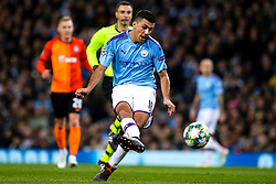 Joao Cancelo of Manchester City - Mandatory by-line: Robbie Stephenson/JMP - 26/11/2019 - FOOTBALL - Etihad Stadium - Manchester, England - Manchester City v Shakhtar Donetsk - UEFA Champions League Group Stage