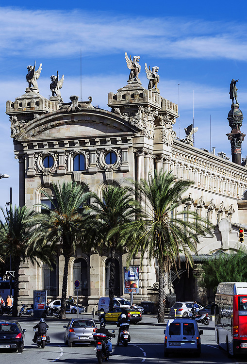 Former Custom House, Port Vell, Barcelona, Spain.