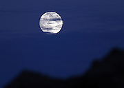ZAOZHUANG, CHINA - SEPTEMBER 27: (CHINA OUT) <br /> <br /> <br /> Picture shows the full moon during the Mid-Autumn Festival on September 27, 2015 in Huaian, Jiangsu Province of China. The Mid-Autumn Day falls on Sep 27 this year<br /> ©Exclusivepix Media