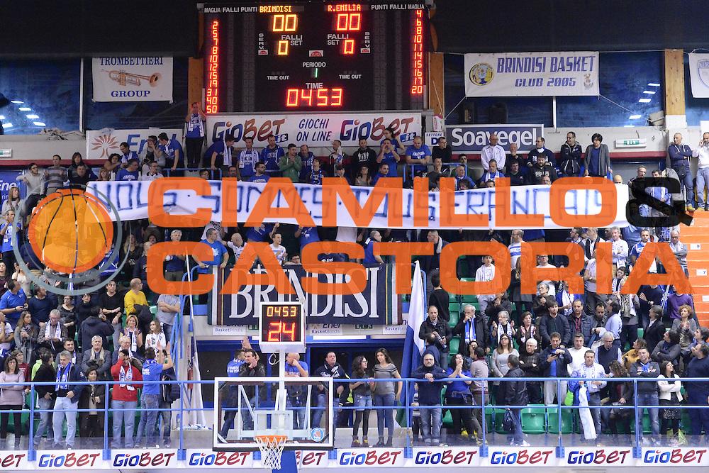 DESCRIZIONE : Brindisi  Lega A 2014-15 Enel Brindisi-GrissinBon Reggio Emilia<br /> GIOCATORE : Tifosi Enel Brindisi<br /> CATEGORIA : Tifosi<br /> SQUADRA : Enel Brindisi<br /> EVENTO : Enel Brindisi-GrissinBon Reggio Emilia<br /> GARA :Enel Brindisi-GrissinBon Reggio Emilia<br /> DATA : 10/01/2015<br /> SPORT : Pallacanestro<br /> AUTORE : Agenzia Ciamillo-Castoria/M.Longo<br /> Galleria : Lega Basket A 2014-2015<br /> Fotonotizia : <br /> Predefinita :