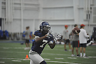 Ole Miss' Trae Elston (7) at football practice at the Manning Center, in Oxford, Miss. on Monday, August 18, 2014.