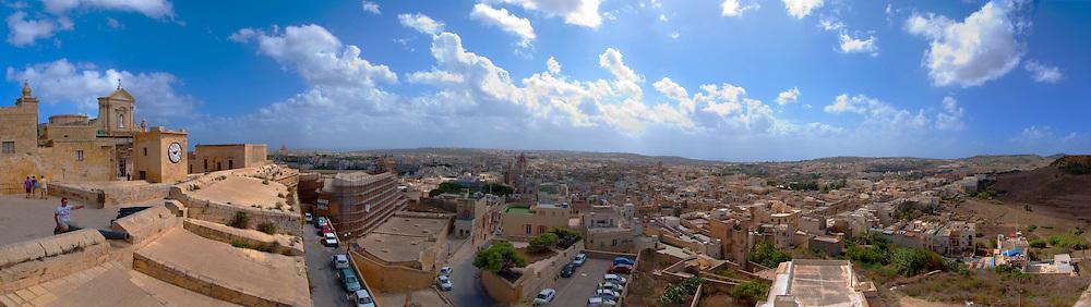 Malta, panoramic view of Valletta