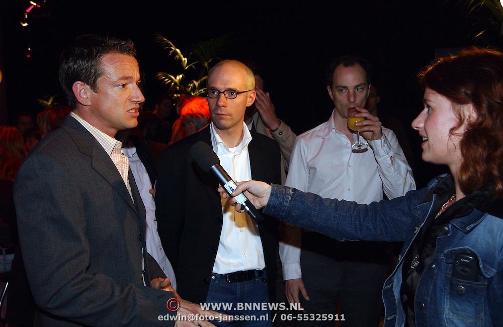 Uitreiking Nipkowschijf 2003, Spijkers met Koppen, Paul Groot, Owen Schumacher en
