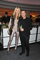 MELISSA ODABASH and JULIEN MacDONALD at the launch of famed American fitness club 'Equinox' 99 High Street Kensington, London on 23rd October 2012.