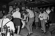 Crowd Dancing, Ska Club, Dublin Castle, UK, 1980s.