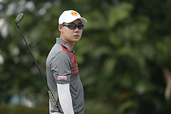March 22, 2019 - Kuala Lumpur, Malaysia - Jazz Janewattananond of Thailand in action on Day Two of the Maybank Championship at Saujana Golf and Country Club on March 22, 2019 in Kuala Lumpur, Malaysia  (Credit Image: © Chris Jung/NurPhoto via ZUMA Press)