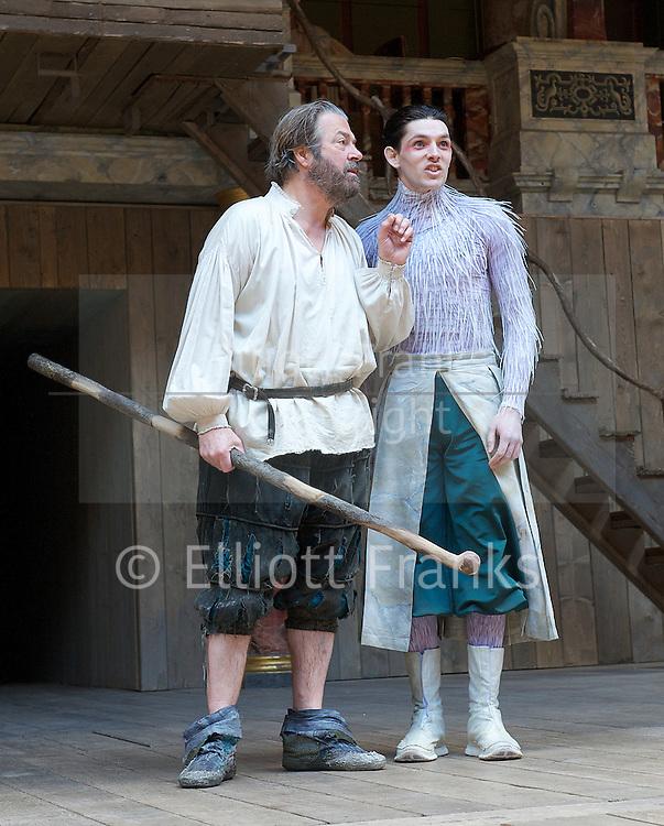 THE TEMPEST<br /> By William Shakespeare<br /> at The Globe Theatre, London, Great Britain <br /> press photocall <br /> 26th April 2013 <br /> <br /> Directed by <br /> Jeremy Herrin <br /> <br /> Designed by<br /> Max Jones <br /> <br /> Music by<br /> Stephen Warbeck<br /> <br /> Roger Allam<br /> Prospero<br /> <br /> Jason Baughan <br /> Antonio  <br /> <br /> Jessie Buckley<br /> Miranda<br /> <br /> Sam Cox<br /> Stephano<br /> <br /> Pip Donaghy  <br /> Gonzalo  <br /> <br /> Trevor Fox<br /> Trinculo<br /> <br /> Peter Hamilton Dyer <br /> Alonso<br /> <br /> James Garnon<br /> Caliban<br /> <br /> Joshua James <br /> Ferdinand<br /> <br /> William Mannering<br /> Sebastian  <br /> <br /> Colin Morgan<br /> Ariel<br /> <br /> Matthew Raymond<br /> Boatswain/Adrian  <br /> <br /> Sarah Sweeney <br /> Iris<br /> <br /> Amanda Wilkin<br /> Ceres