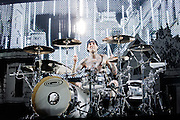 Blink 182 performing at the Rockhal Luxembourg, Europe on July 14, 2012