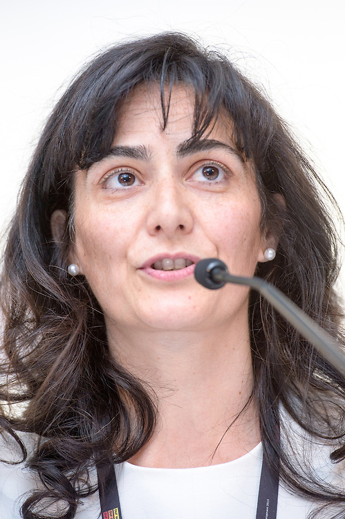 04 June 2015 - Belgium - Brussels - European Development Days - EDD - Jobs - Developing with decent work - Veronica Rubio , Senior Strategic Issues Manager , Business Social Compliance Initiative (BSCI) © European Union
