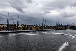 General view during the F1H2O UIM World Championship 2018 Grand Prix of London around Royal Victoria Dock