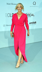 Joely Richardson at the amfAR event held at the Hotel du Cap, France on Thursday, 24th May 2012. Photo by: i-Images