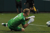 Football - Premier League - Chelsea Training for friendly with Man City St. Louis, MO/USA. Manchester City won, 4-3 over Chelsea. Manchester City goalkeeper Joe Hart ( 1) dives to stop a shot on goal in the first half...