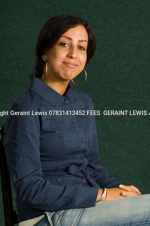 Faiza Guene, French author of Algerian background.. CREDIT Geraint Lewis