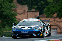 Ciaran Haggerty (GBR) / Sandy Mitchell (GBR)  #59 Black Bull Ecurie Ecosse  McLaren 570S GT4  McLaren 3.8L Turbo V8 British GT Championship at Oulton Park, Little Budworth, Cheshire, United Kingdom. May 28 2016. World Copyright Peter Taylor/PSP.