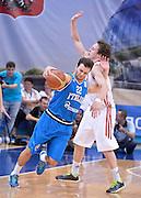 DESCRIZIONE : Qualificazioni EuroBasket 2015 Russia-Italia  <br /> GIOCATORE : Stefano Gentile<br /> CATEGORIA : nazionale maschile senior A <br /> GARA : Qualificazioni EuroBasket 2015 - Russia-Italia<br /> DATA : 13/08/2014 <br /> AUTORE : Agenzia Ciamillo-Castoria