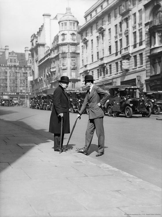 Men, St. James's Street, London, England, 1933