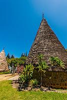 Tjibaou Cultural Center, Noumea, Grand Terre, New Caledonia