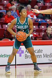 10 December 2017:  Juanita Agosto during an College Women's Basketball game between Illinois State University Redbirds and the Eagles of Eastern Michigan at Redbird Arena in Normal Illinois.