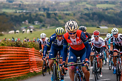 Rider of Bahrain Merida Pro Cycling Team during the UCI WorldTour 103rd Liège-Bastogne-Liège from Liège to Ans with 258 km of racing at Cote de la Redoute, Belgium, 23 April 2017. Photo by Pim Nijland / PelotonPhotos.com | All photos usage must carry mandatory copyright credit (Peloton Photos | Pim Nijland)