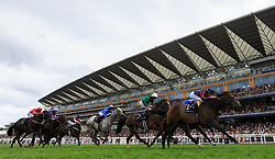 The Tin Man ridden by Tom Queally comes home to win The Diamond Jubilee stakes during day five of Royal Ascot at Ascot Racecourse.