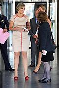 Koningin M&aacute;xima opent het ECSITE-congres voor cultuur-en wetenschapscommunicatie in het World Forum in Den Haag. Het Museon organiseert de 25e editie van het driedaagse internationale congres.<br /> <br /> Queen M&aacute;xima opens ECSITE conference for culture and science communication at the World Forum in The Hague. Museon organizes the 25th edition of the three-day international conference<br /> <br /> Op de foto / On the photo:   Koningin Maxima / Queen Maxima