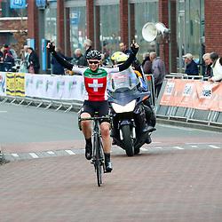 09-04-2016: Wielrennen: Energiewachttour vrouwen: Zuidhorn<br /> De slotetappe Energiewachttour junior vrouwen