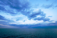 Summer storms are rolling over Chicago and out into Lake Michigan.