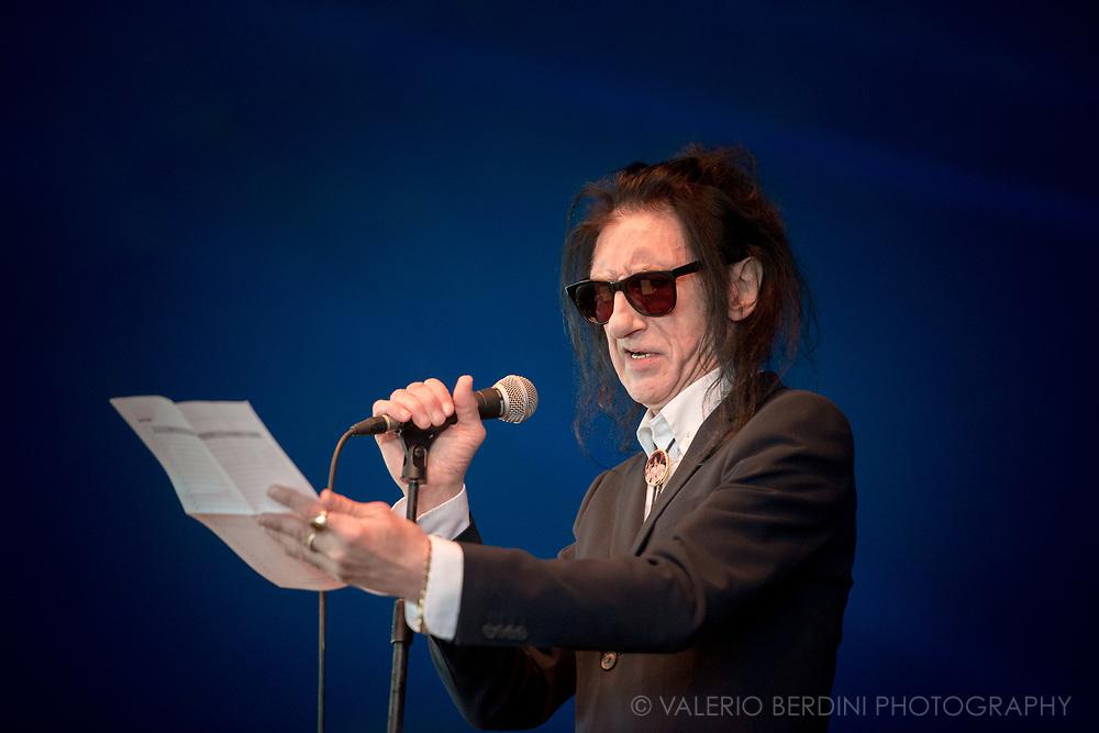 John Cooper Clarke live at Field Day London on 3 June 2017