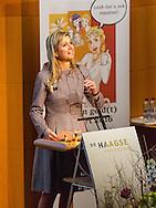 22-3-2016 THE HAGUE - Queen Maxima arrives for the seminar Participation Money (t) of the professorship Financial Inclusion and New Entrepreneurship The Hague University and Qredits Microfinance Netherlands. The seminar focuses on the role played by financial institutions in promoting economic participation of people. COPYRIGHT ROBIN UTRECHT<br /> 22-3-2016 DEN HAAG - Koningin Maxima komt aan voor het seminar Meedoen Geld(t) van het lectoraat Financial Inclusion and New Entrepreneurship van De Haagse Hogeschool en Qredits Microfinanciering Nederland. Het seminar richt zich op de rol die financiele instellingen kunnen spelen bij het stimuleren van economische participatie van mensen.  COPYRIGHT ROBIN UTRECHT